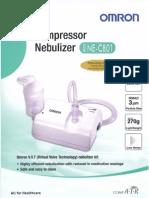 Compressor nebulizer NE-C801