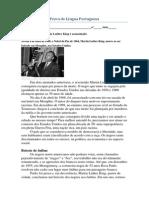 Prova de Língua Portuguesa - 1° Bimestre (1)