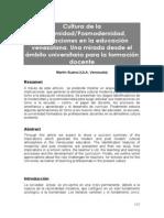 Mod-posmod Educ Venezuela