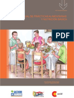 Manual de Prácticas Alimentarias y  Nutrición Básica