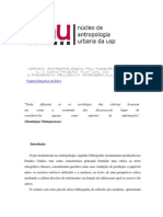 critica antropologica pós-moderna e a construção textual da etnografia religiosa afrobrasileira