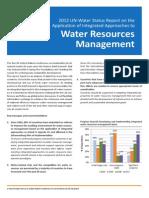UN-Water Report for Rio Summary