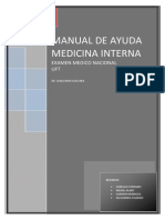 Manual de Medicina Interna UFT (Dr. Guillermo Guevara, 2009)