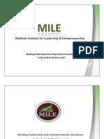 MILE - Madinah Institute for Leadership and Enterprenuership