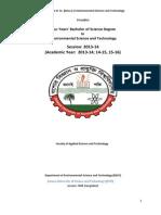 Syllabus of EST