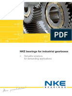 NKE Bearings for Industrial Gearboxes