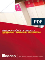 Introduccion a la Unidad 2 Preparación y Evaluacion de Proyectos
