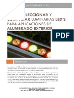 Luminarias LED