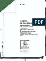 Lees, R. - Analisis de Los Alimentos - 01