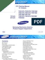 Panasonic TV LCD LX600 -Manual de Training