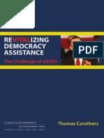 Revitalizing U.S. Democracy Assistance