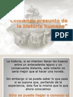 Comienzo Presunto de La Historia Humana