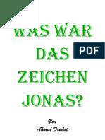 Was waren die Zeichen Jonas? Endversion