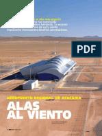 Aeropuerto de Atacama -Iglesis Prat