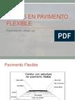 Fallas en Pavimento Flexible