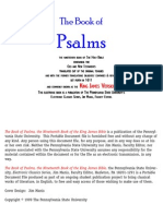 Bible Psalms