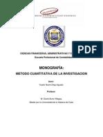 Trabajo Monografico Cuantitativode Yosi