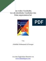 Eine wahre Geschichte! Christen zum Islam