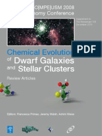 Messenger No134 Supplement – Chemical Evolution of Dwarf Galaxies and Stellar Clusters
