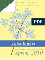 NewHarbinger Catalogue Spring 2010