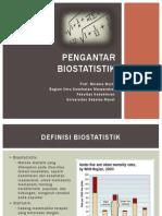 Pengantar Biostatistik Prof Bhisma Murti