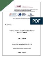 Manual Contabilidad de Instituciones Financieras