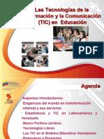 Las TIC y la educación venezolana