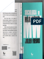 Julien Freund the Sociology of Max Weber 1969