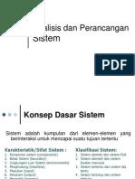Analisa dan Perancangan Sistem III