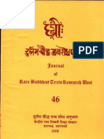 Dhih, A Review of Rare Buddhist Texts XLVI - Ngawang Samten and S. S. Bahulkar