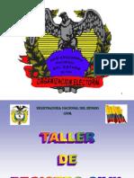Talleres Registro Civil
