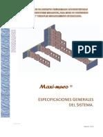Maximuro CAMECO Especificaciones Generales 2013