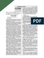 Decretos y normas para la comerciañizacion del ORO