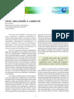 Artigo_ Gene, Organismo e Ambiente_ Genetica Na Escola