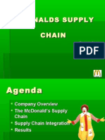 McDonalds INDAIN supply chain