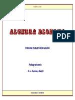 Algebra Blokova