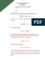 Solusi Quiz Fisika Kuantum