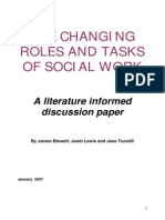 Roles of Social Work