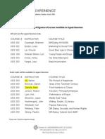 Fall 2014 Upperclass SIG Course List[7]