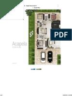 Acapella Floor Plan