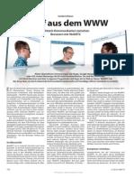 WebRTC Seiten aus ct Magazin für Computertechnik No 19 2013 (Verlag) (Clubedition)