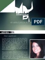 VP EB AIESEC Stockholm Application Booklet 2014 - 2015
