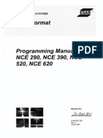 Programming Manual for NCE 290,390,520,620 Part 1