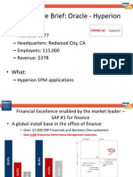 Oracle CompBrief