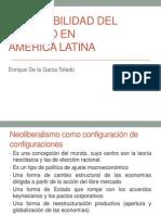 LA FLEXIBILIDAD DEL TRABAJO EN AMÉRICA LATINA