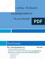 buckler - the late republic exam review