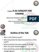 Youth as Catalyst for Change