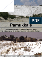 Pamukkale is Located in the Inner Aegean Region at A