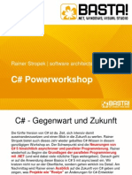 CSharp Powerworkshop BASTA Spring 2013 - Rainer Stropek