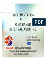 Teknik Penerapan Risk Based Audit